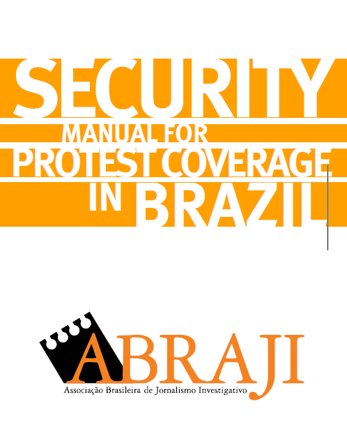 Security Manual for Protest Coverage in Brazil
